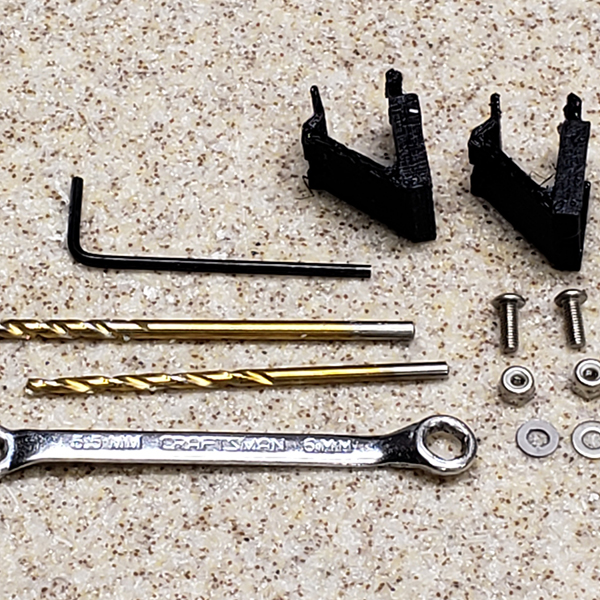Kit and required tools.